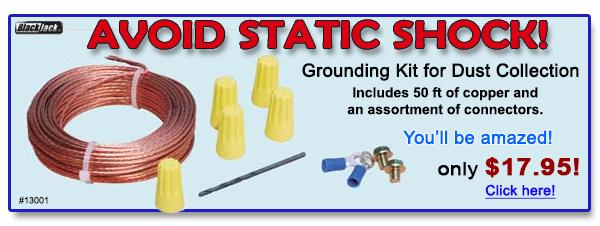 Avoid Static Shock!