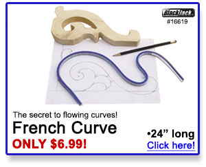 The secret to flowing curves.