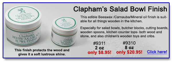 Protects your wood.