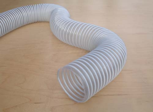 Dust Collection Pvc Hose 2 1 2 X 20 Feet Workshop Supply