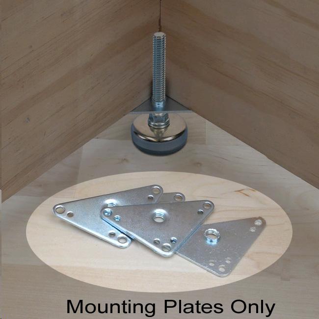 leveling foot mounting plate workshop supply. Black Bedroom Furniture Sets. Home Design Ideas