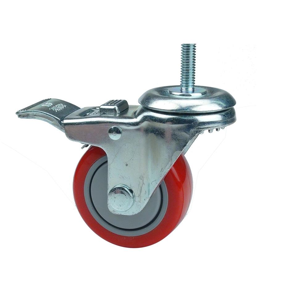 Caster 3 Quot Swivel Lock Stud Workshop Supply
