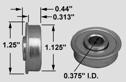 Glider Rocker Bearing Hardware Bearing 3 8 Id X 1 1 8 Od