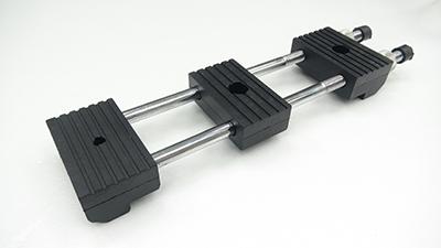 Rubber holders for non-slip sharpening!