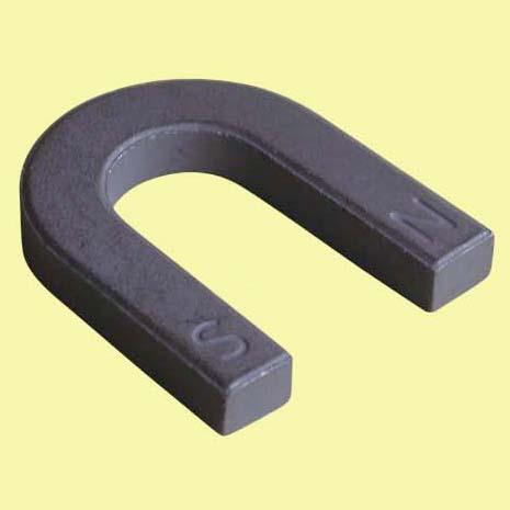 Ceramic Horseshoe Magnet Large 30mm X 5mm Thick Workshop