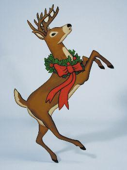 Christmas Winter Classic Reindeer Pattern Workshop Supply