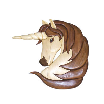 Female Unicorn Intarsia Pattern | WORKSHOP SUPPLY