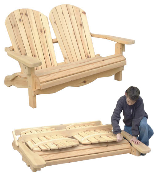 Adirondack Chair Footstool Plans Outdoor Furniture - Folding Adirondack Chair Plan