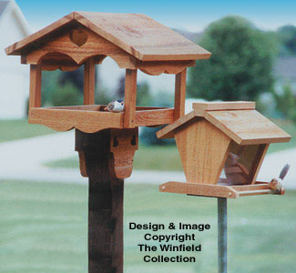 The Winfield Collection - Bird Feeder Plans | WORKSHOP SUPPLY