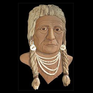 Advanced Native American Man Intarsia Pattern Workshop