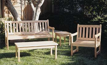 Awesome Outdoor Furniture   English Garden Set Plans