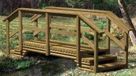 landscape timber furniture