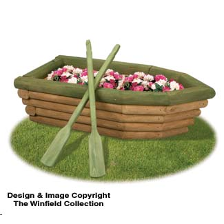 The Winfield Collection - Landscape Timber Rowboat Planter Plan | WORKSHOP SUPPLY