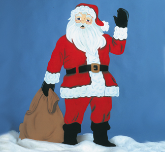The Winfield Collection Life Size Santa Pattern