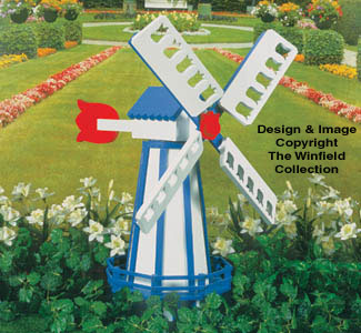 The Winfield Collection Dutch Windmill Plan Workshop