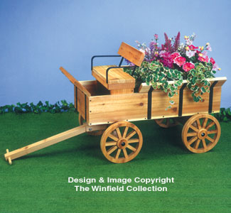 The Winfield Collection Hay Wagon Planter Plan