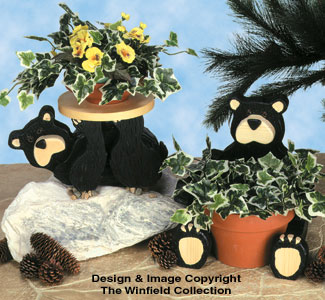 The Winfield Collection Black Bear Planter Plans
