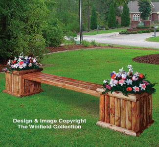 The Winfield Collection Landscape Planter Bench Plan