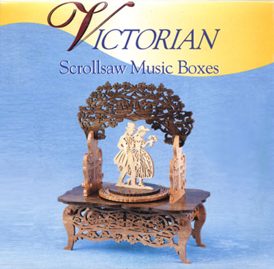 Cd Victorian Scrollsaw Music Boxes Workshop Supply