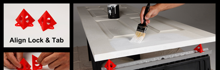 works especially well with staining, refinishing and stripping