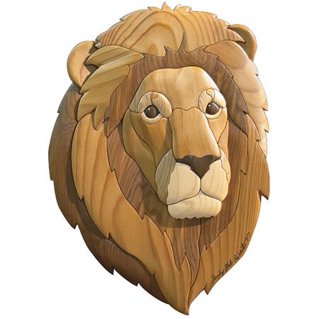 Lion Intarsia Pattern WORKSHOP SUPPLY Gorgeous Intarsia Patterns