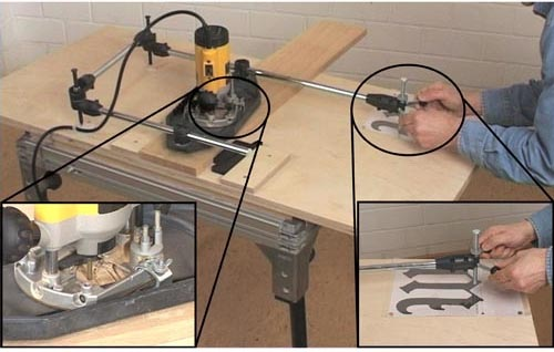 3d pantograph Craftsman Industrial Router Table Craftsman Industrial Router Table