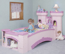 Twin Castle Bed Kits To Build