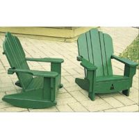 Outdoor Furniture Tete A Tete Adirondack Plan Workshop
